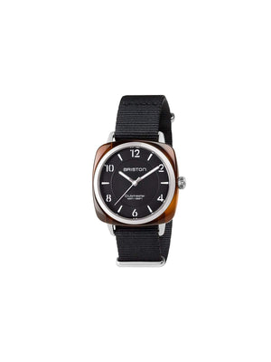 Briston Clubmaster Chic Acetate HMS Tortoise Shell Black Dial 36mm-Watches-Briston-MORE by Morello