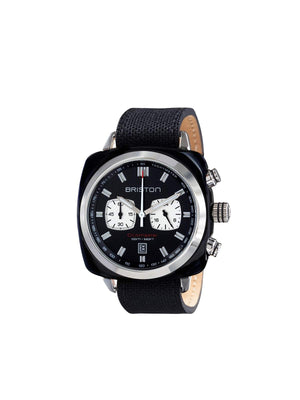Briston Clubmaster Sport Acetate Chronograph Black With Black Dial 42mm - MORE by Morello Indonesia