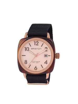 Briston Clubmaster Classic Acetate HMS Gold PVD Rose Gold Dial 40mm - MORE by Morello Indonesia