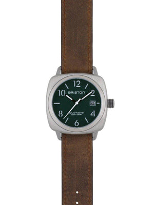 Briston Clubmaster Classic Steel HMS British Green Matt Dial 40mm - MORE by Morello Indonesia