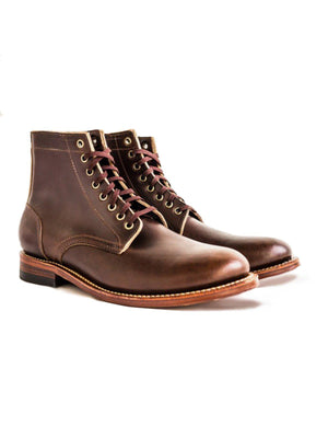 Oakstreet Bootmakers Brown Dainite Trench Boot