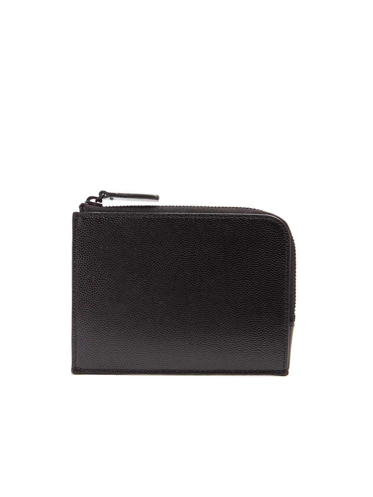 Common Projects Zip Around Pebbled Leather Wallet Black - MORE by Morello Indonesia