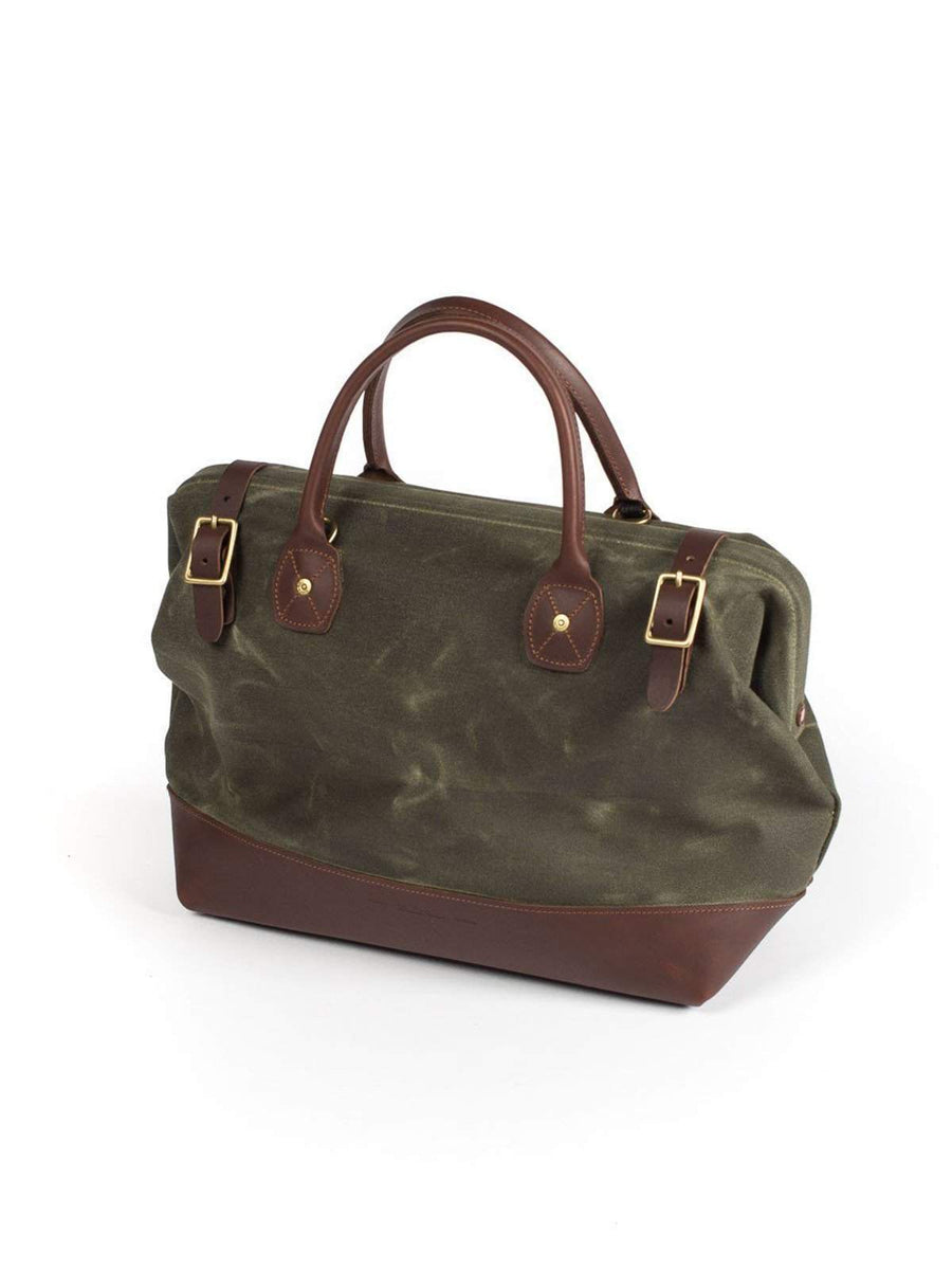 Wood&Faulk Carpenter Bag Balmoral Moss - MORE by Morello - Indonesia