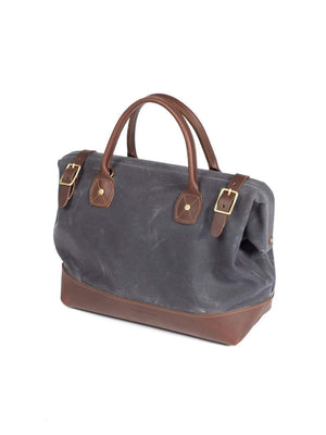 Wood&Faulk Carpenter Bag Cambrian Slate-Bags-Wood&Faulk-MORE by Morello