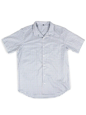 Jackhammer Charlie Shirt Checkered White
