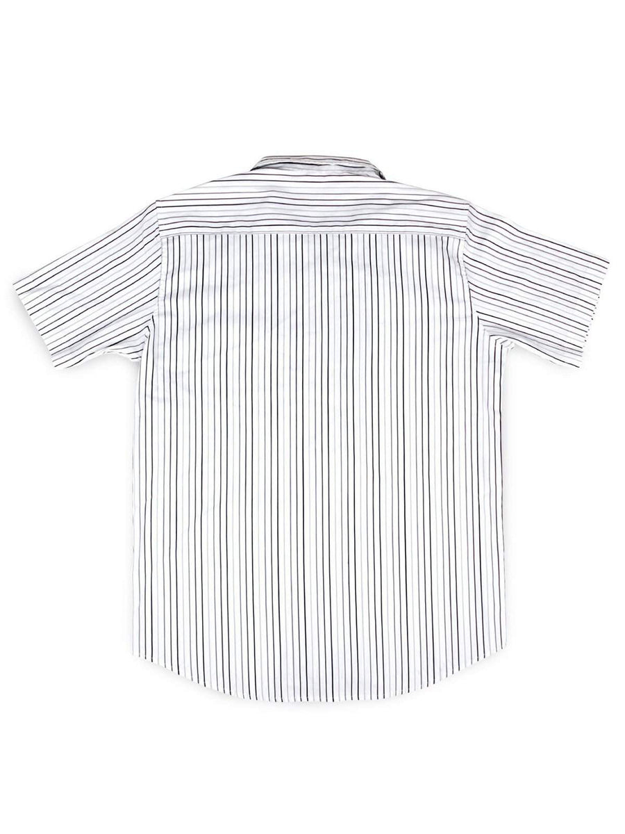 Jackhammer Charlie Shirt Striped White