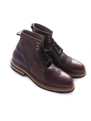 Chevalier Captoe Boots Color 8 Chromexcel - MORE by Morello