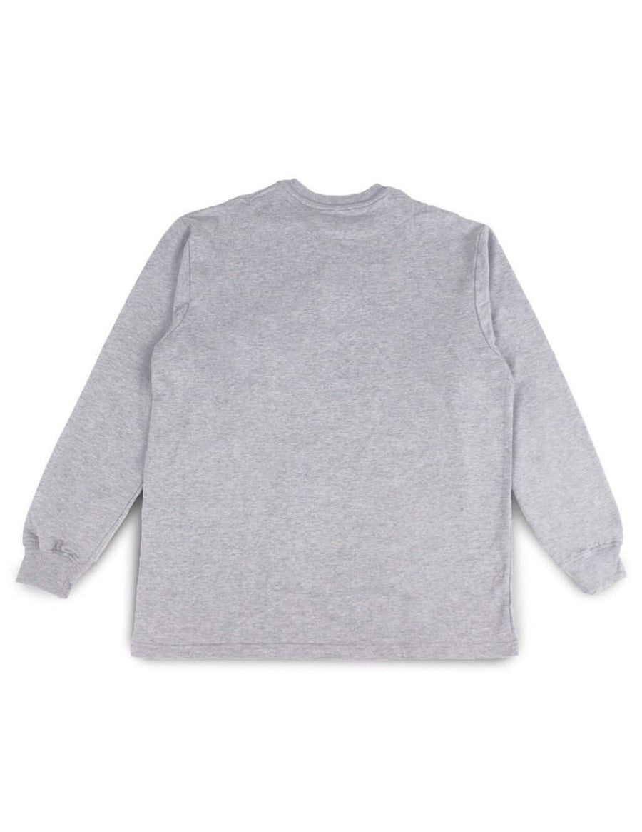 Jackhammer Chief Henley Shirt Cloud Grey - MORE by Morello