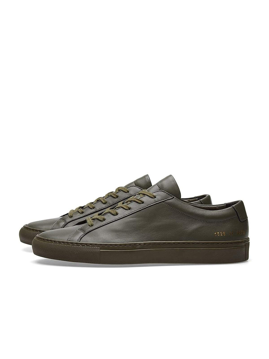 Common Projects Original Achilles Low Army Green - MORE by Morello