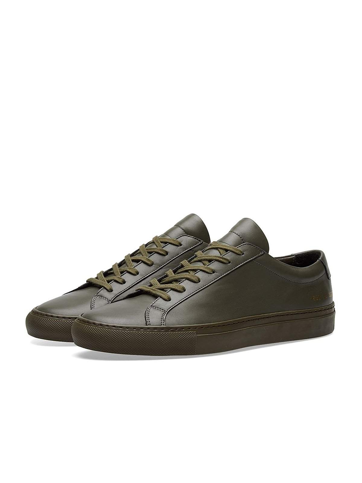 Common Projects Original Achilles Low Army Green - MORE by Morello Indonesia