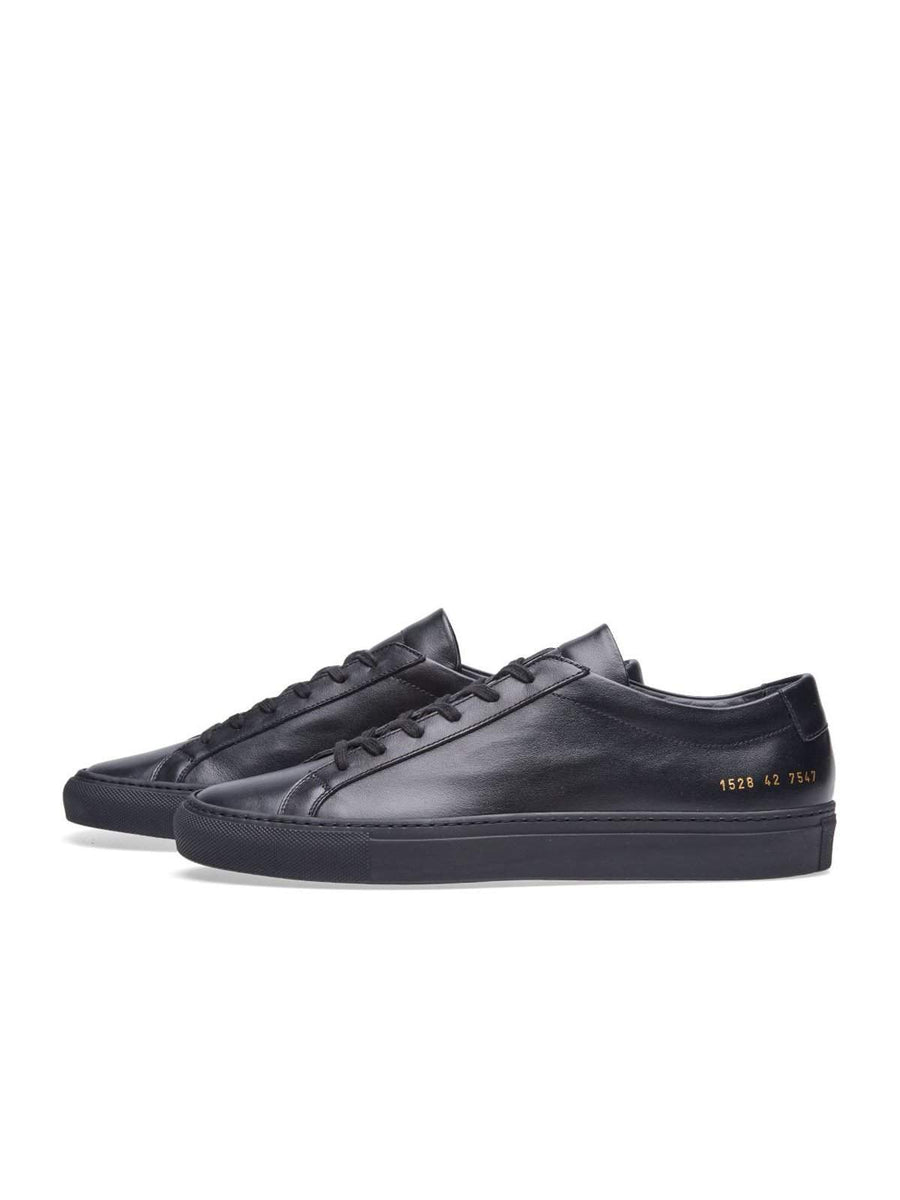 Common Projects Original Achilles Low Black - MORE by Morello