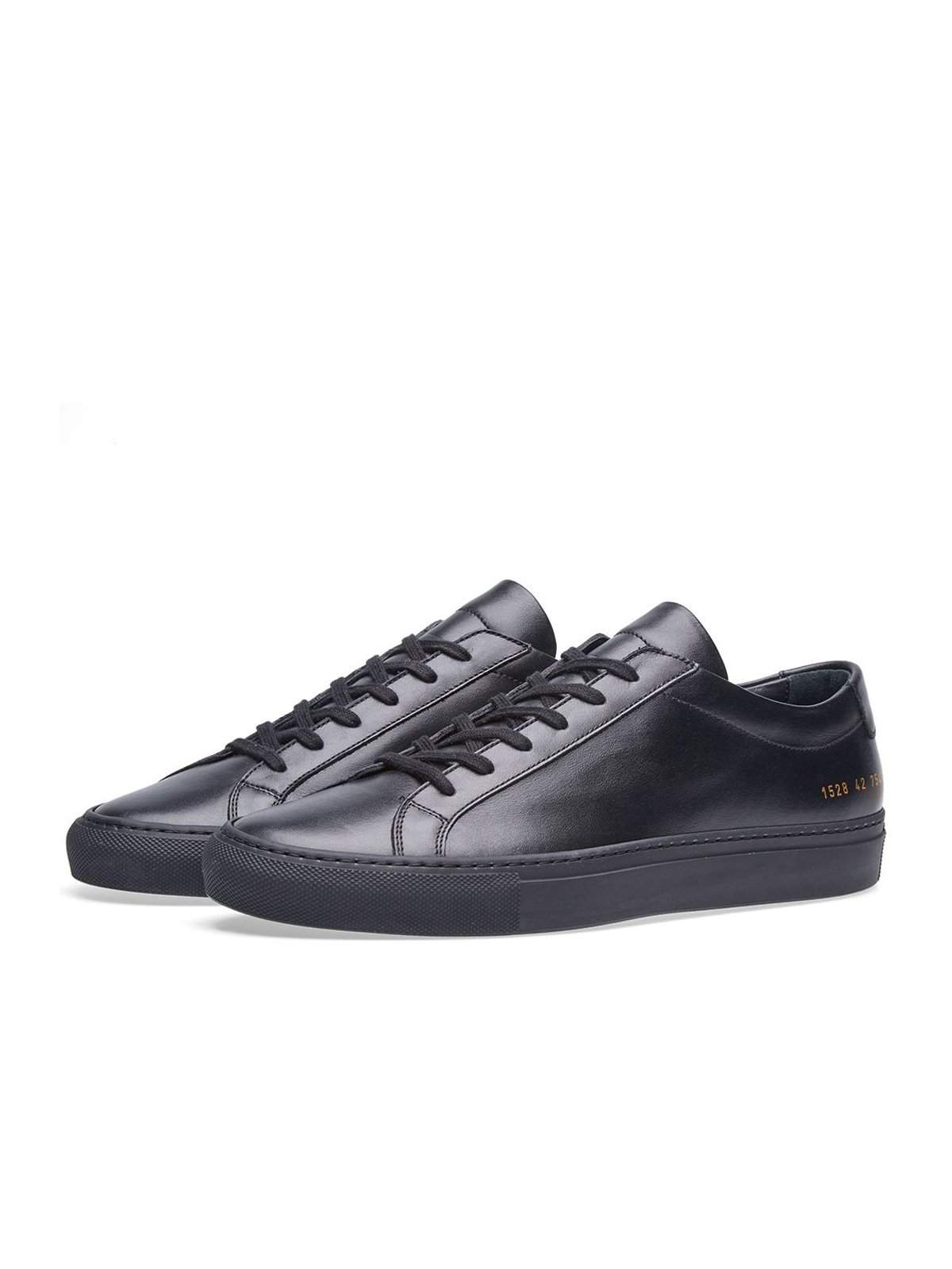 Common Projects Original Achilles Low Black - MORE by Morello Indonesia