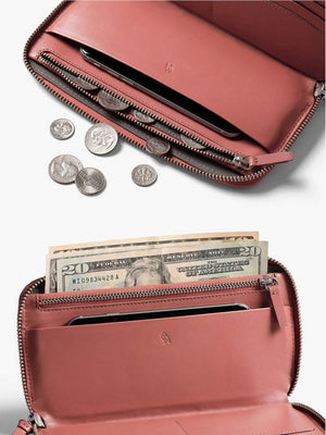Bellroy Folio Wallet Deep Blush - MORE by Morello