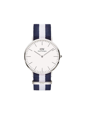 Daniel Wellington Classic Glasgow Silver Women 36mm - MORE by Morello Indonesia