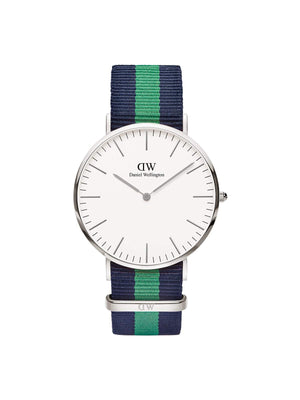 Daniel Wellington Classic Warwick Silver Men 40mm - MORE by Morello Indonesia