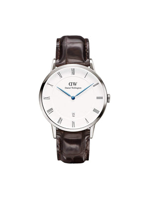 Daniel Wellington Dapper York Silver Unisex 38mm - MORE by Morello Indonesia