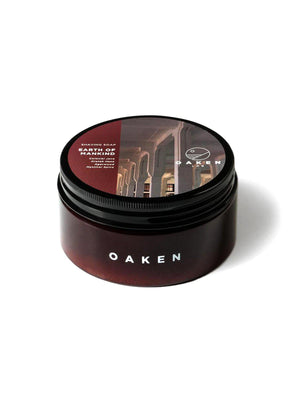 Oaken Lab Shaving Soap Earth Of Mankind 114g - MORE by Morello Indonesia