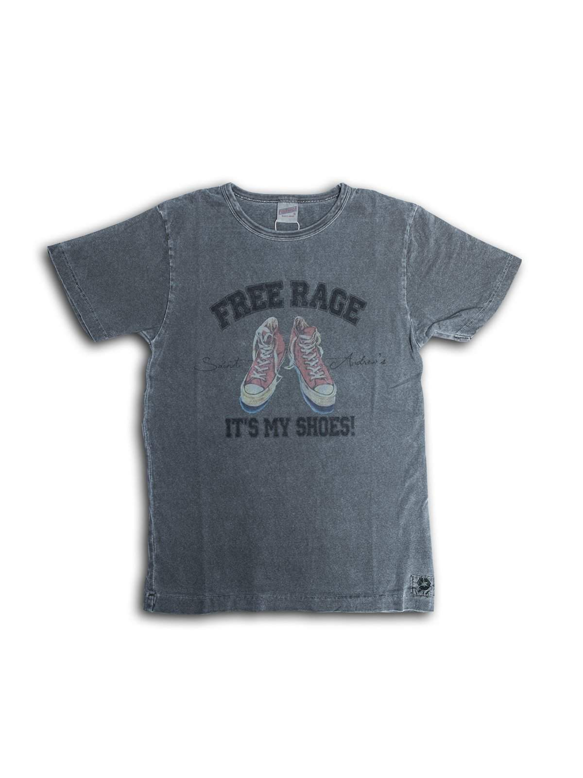 Free Rage Recycled Cotton Tee It's My Shoes Sumi - MORE by Morello Indonesia