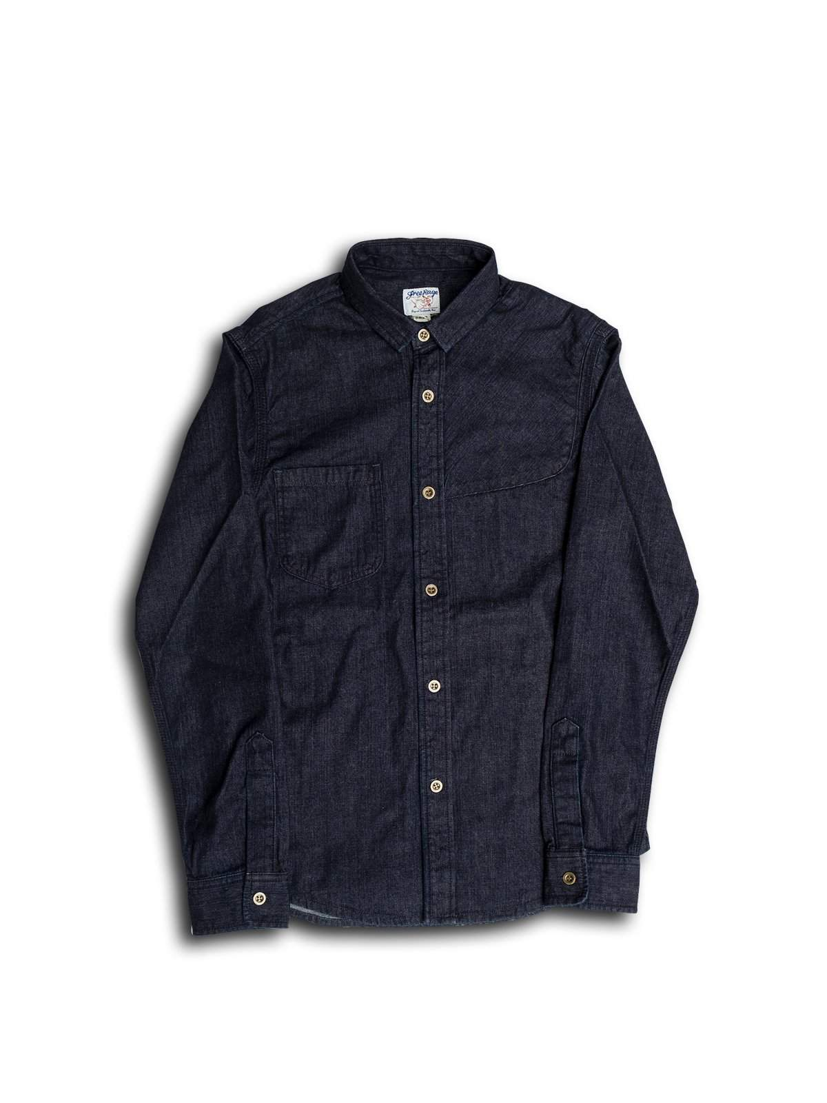Free Rage Denim Shirt With Gunpatches - MORE by Morello Indonesia