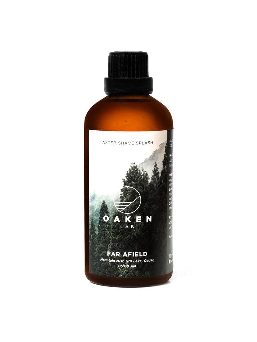 Oaken Lab Aftershave Splash Far Afield 100ml - MORE by Morello Indonesia