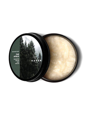 Oaken Lab Shaving Soap Far Afield 114g - MORE by Morello Indonesia