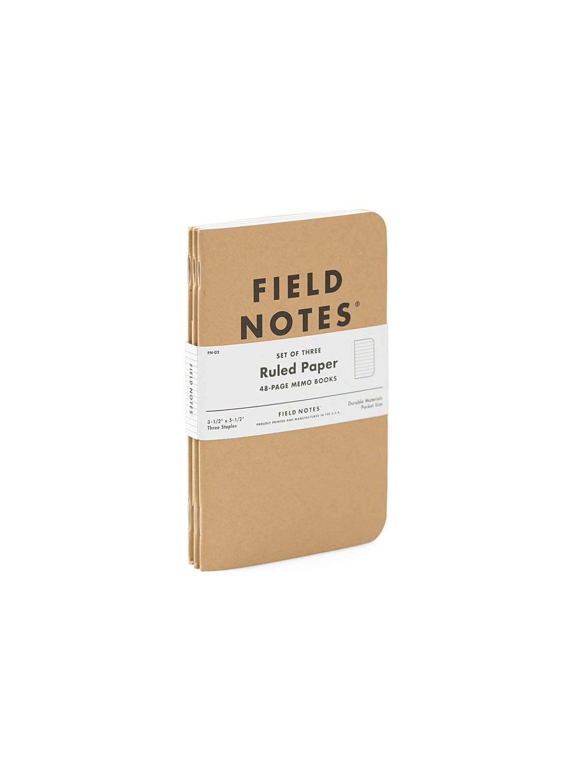 Field Notes Original Kraft 3 Pack Ruled Paper - MORE by Morello Indonesia