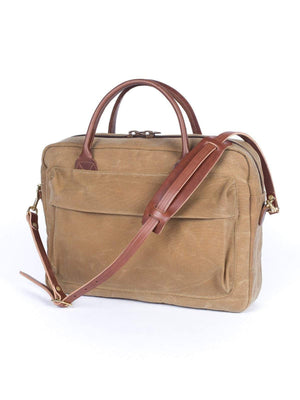Wood&Faulk Folio Briefcase High Desert Sage - MORE by Morello - Indonesia