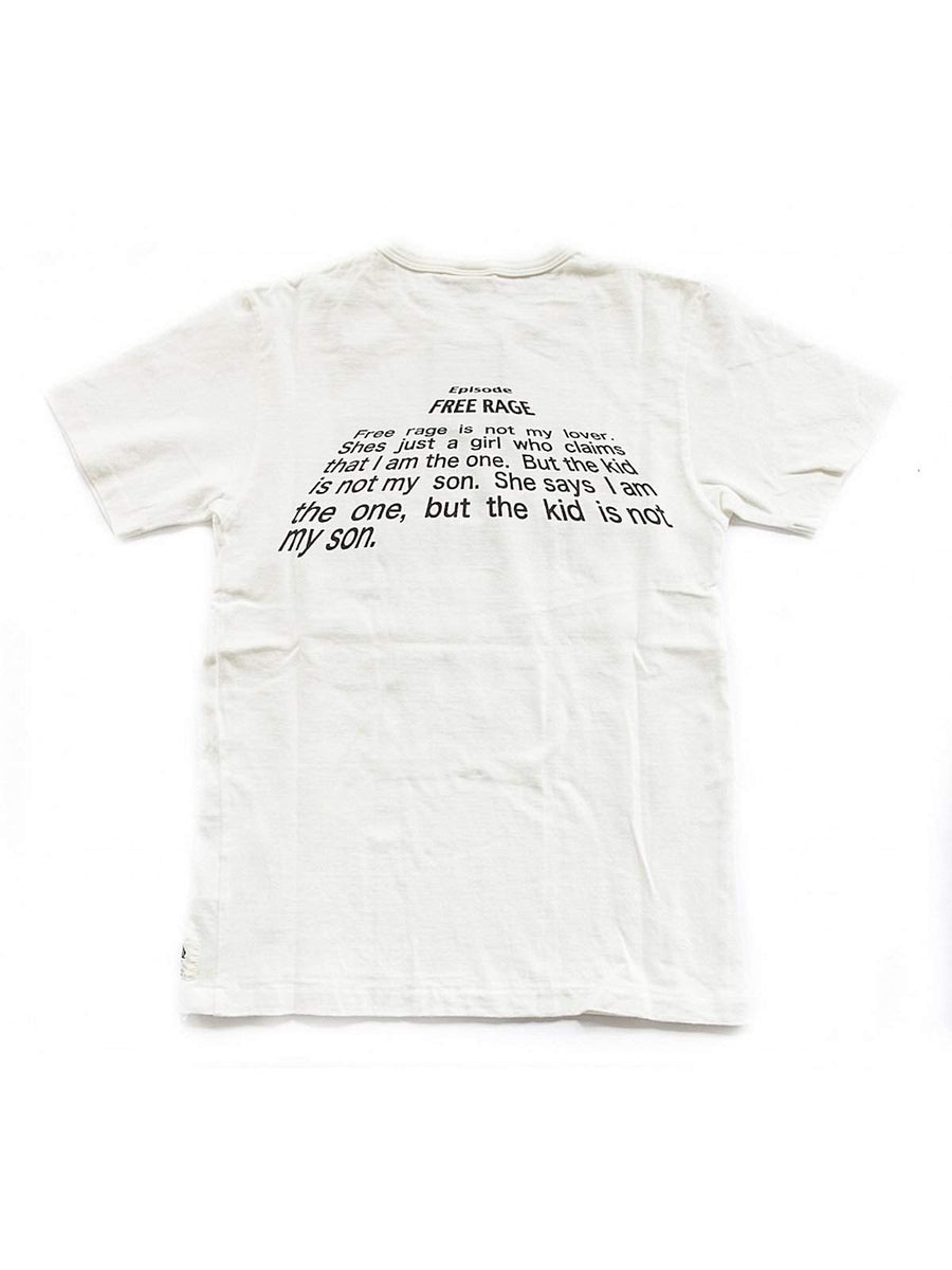 Free Rage Star Walk Tee White - MORE by Morello