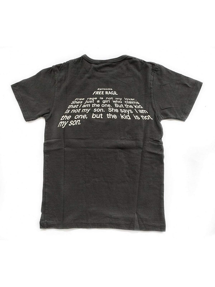 Free Rage Star Walk Tee Black - MORE by Morello