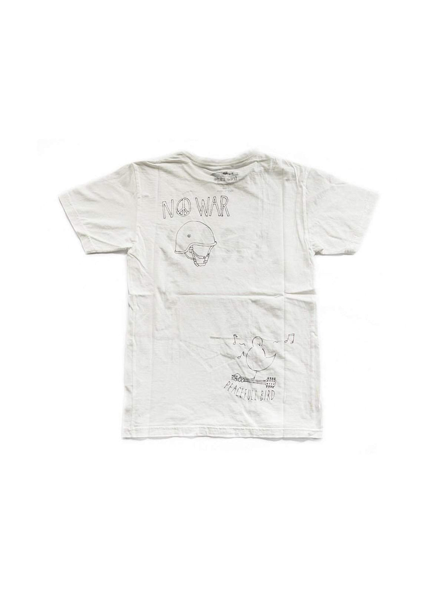 Free Rage Army Hand Paint Tee White - MORE by Morello - Indonesia