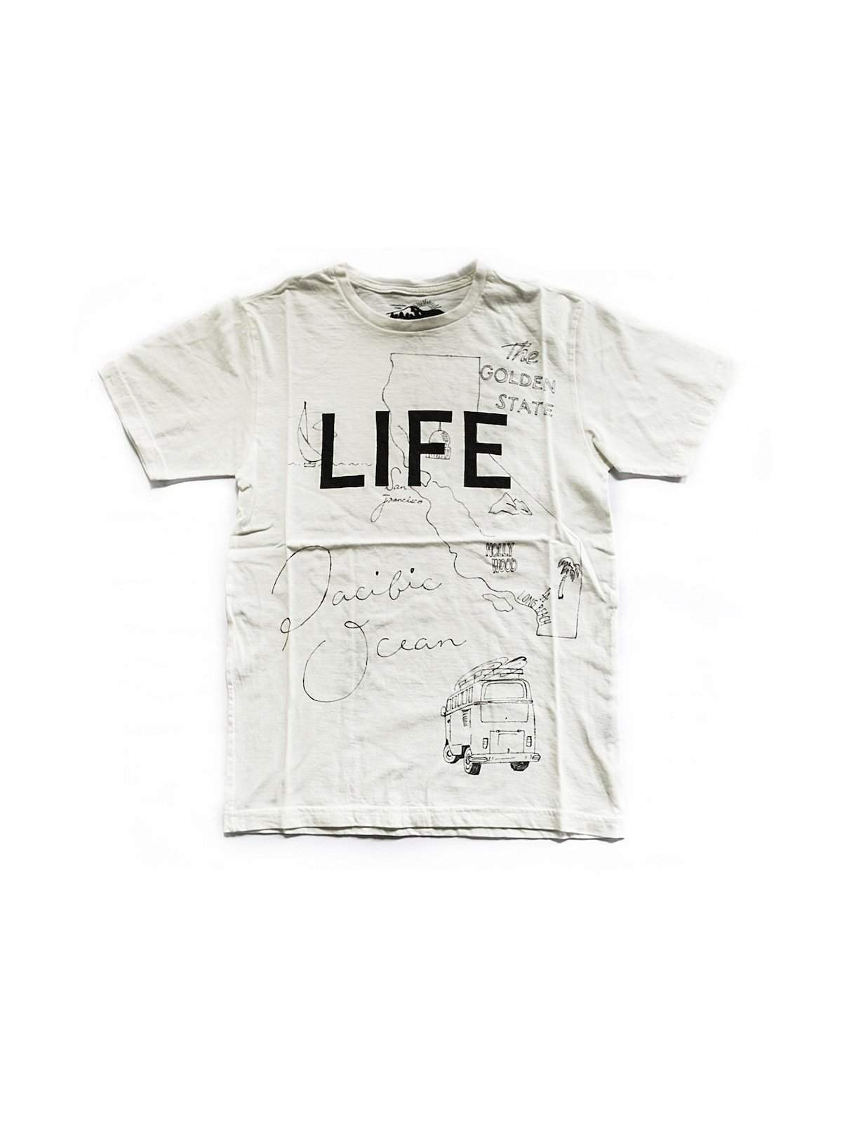 Free Rage Life Hand Paint Tee White - MORE by Morello Indonesia
