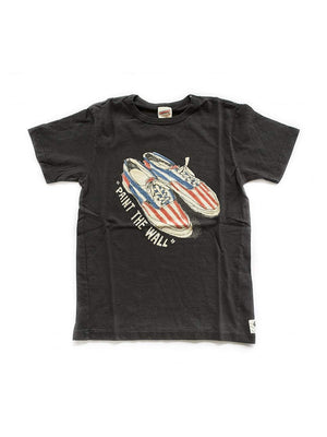 Free Rage Paint The Wall Tee Black - MORE by Morello Indonesia
