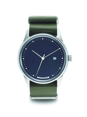 Hypergrand Maverick Oxley Green Leather 41mm - MORE by Morello Indonesia