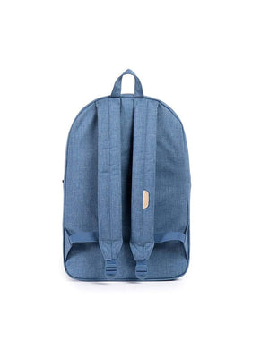 Herschel Heritage Backpack Crosshatch Navy Straw - MORE by Morello Indonesia