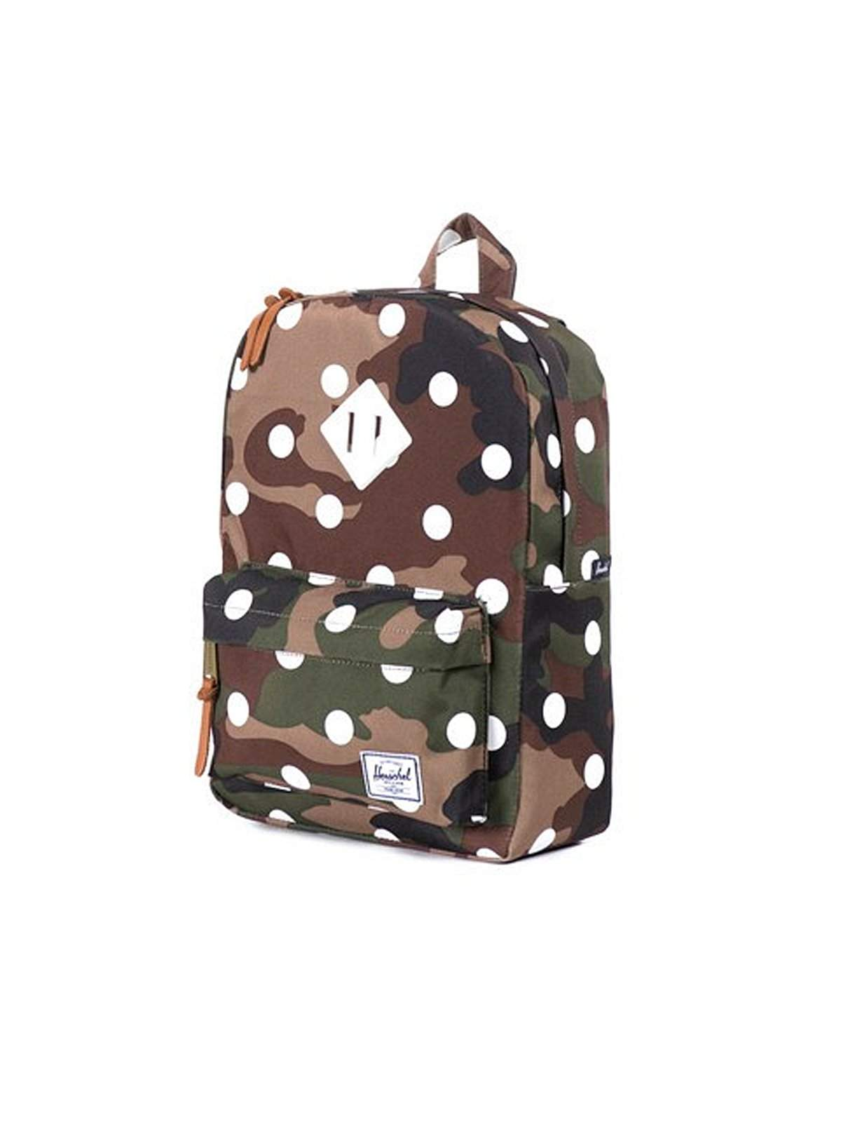 1a73be0f1d Herschel Heritage Woodland Camo Polka Dot White Rubber - MORE by Morello  Indonesia