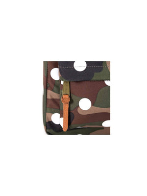 Herschel Heritage Woodland Camo/Polka Dot/White Rubber - MORE by Morello Indonesia