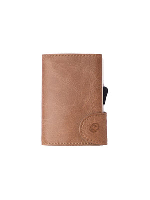 C-Secure Italian Leather RFID Wallet Cobblestone - MORE by Morello - Indonesia