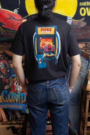Oldblue Co. x MORE by Morello Tee The Arcade Riders Black - MORE by Morello Indonesia