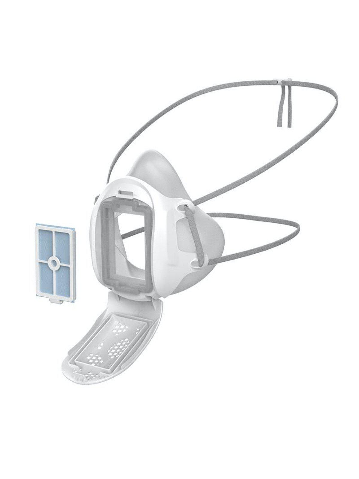 Gill Mask Reusable Face Mask Respirator White