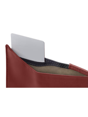 Bellroy Note Sleeve Wallet Red Earth RFID