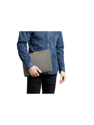 Bellroy Laptop Sleeve 13 Inch Limestone Recycled (Leather-Free)