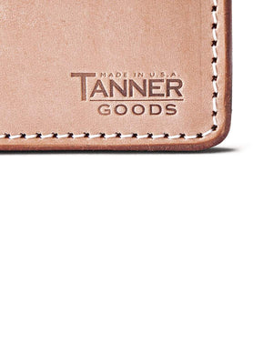 Tanner Goods Journeyman Wallet Natural-Wallets-Tanner Goods-MORE by Morello