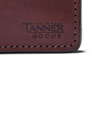 Tanner Goods Journeyman Wallet Cognac-Wallets-Tanner Goods-MORE by Morello