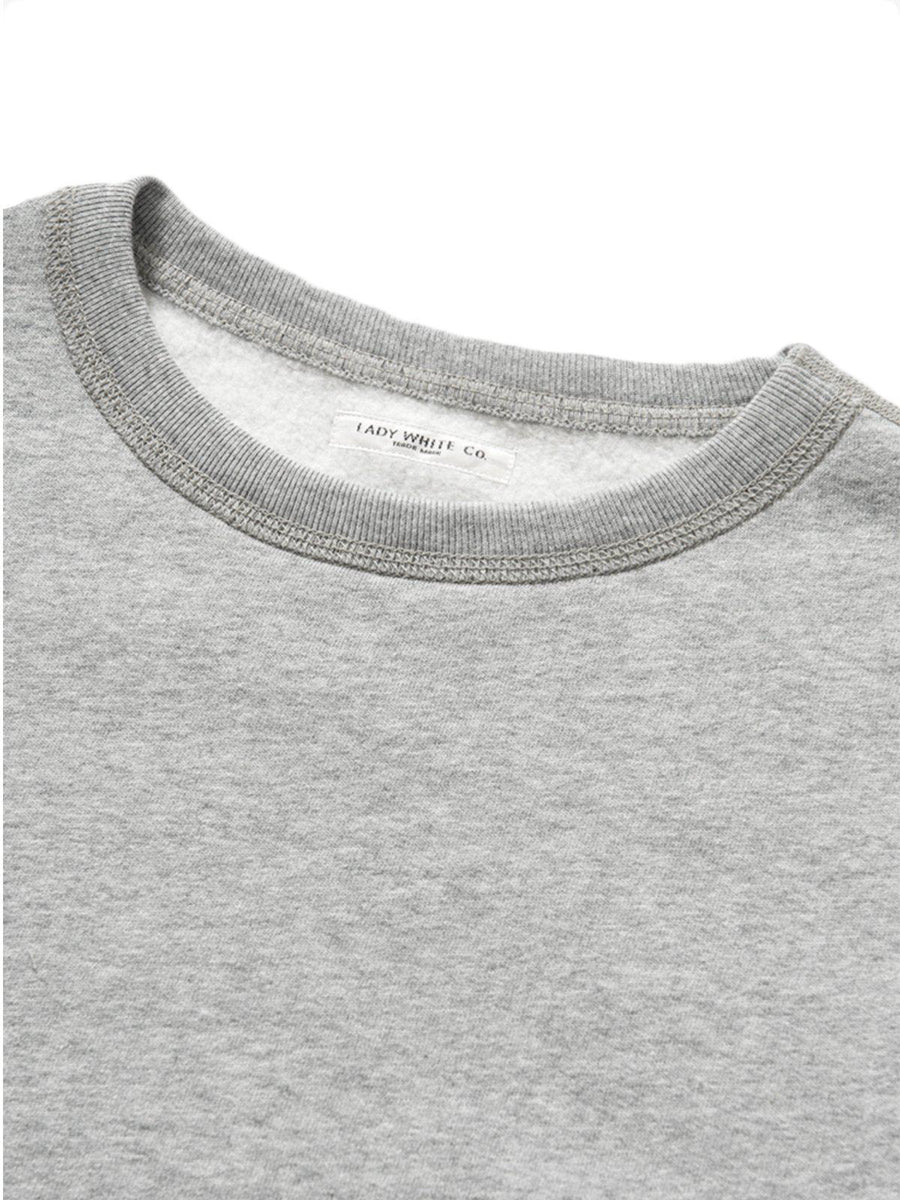 Lady White Co. Lite Sweatshirt Heather Grey - MORE by Morello Indonesia