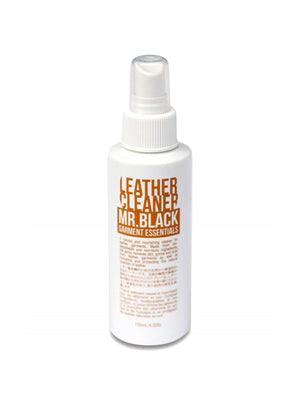 Mr Black Leather Cleaner 125ml - MORE by Morello Indonesia