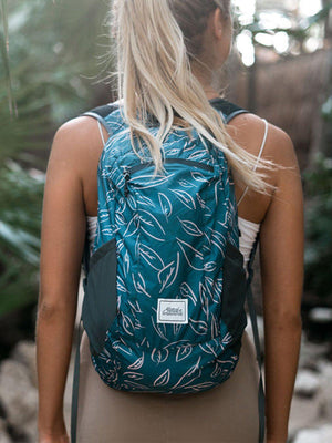 Matador DL16 Packable Backpack Leaf Pattern - MORE by Morello Indonesia