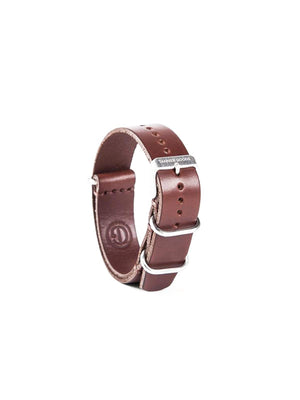 Tanner Goods Watch Nato Strap Cognac 20mm-Watches-Tanner Goods-MORE by Morello