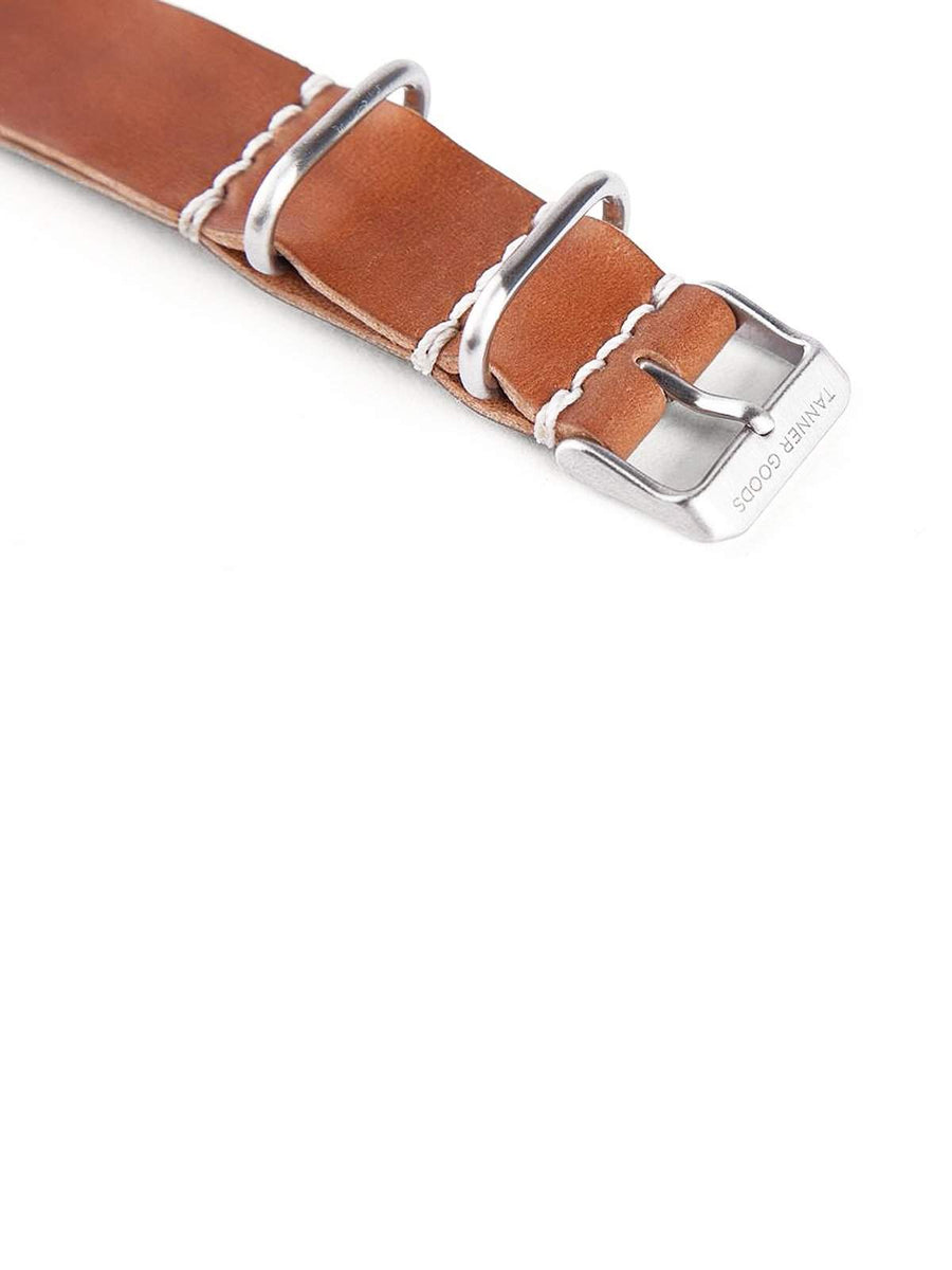 Tanner Goods Nato Watch Strap Natural Cordovan 20mm-Watches-Tanner Goods-MORE by Morello