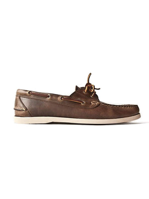 Oakstreet Bootmakers Natural Boat Shoe-Casual-Oakstreet Bootmakers-MORE by Morello