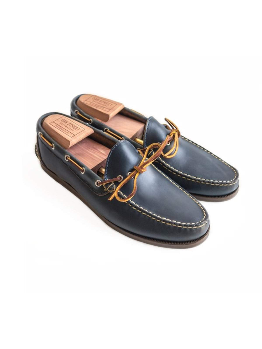 Oakstreet Bootmakers Navy Camp Moc-Casual-Oakstreet Bootmakers-MORE by Morello